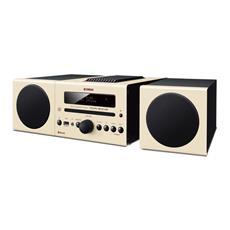 YAMAHA - Sistema Micro Hi-Fi MCR-B043 Lettore CD Supporto MP3 / WMA Potenza Totale 30Watt Bluetooth USB...
