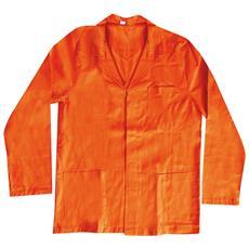Giacca In Cotone Colore Arancio Taglia L