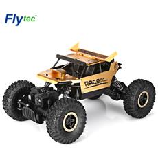 Flytec 9118 1:18 Lega 2.4g 4wd Ad Alta Velocità Arrampicata Rock Car Racing Vehicle