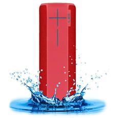 Speaker Wireless Portatile Boom 2 Bluetooth / NFC colore Rosso