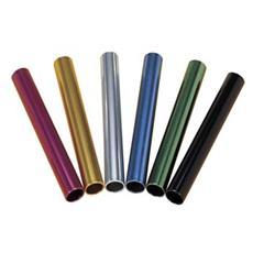 Testimoni in alluminio Serie 6 pezzi colorati Misura 29,5x3,8 cm