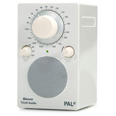 iPal Radio da Tavolo AM / FM Bluetooth Compatibile Apple Colore Bianco