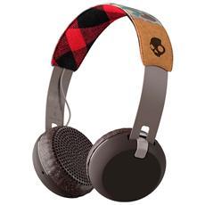 Cuffie Grind Wireless On-Ear con Microfono - colore Nero / camo