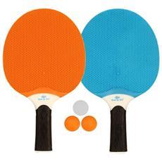 & Set Tenis Da Tavola All'aperto Blu / arancione / grigio 61up