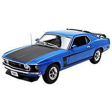 We1307 Ford Mustang Boss 1970 Red 1:18 Modellino