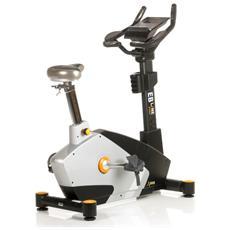 Cyclette Ergometro Eb-2100i Semiprofessionale, Volano 14 Kg, 12 Programmi
