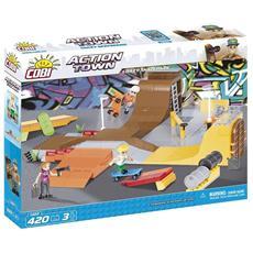 Crazy Skatepark Action Town Gioco Di Costruzioni 1880 420 Pz *02607