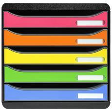 Modulo per Archivio da Scrivania Big-Box Plus Classic Colore Multicolore