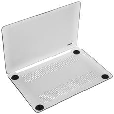Case It Leggera Rigida Protettiva Anteriore E Posteriore Per Apple Macbook 12-inch Argento Argento 12 Inch