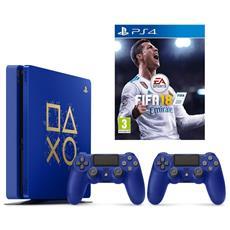 SONY - Console Playstation 4 Ps4 500 Gb Slim + 2°...