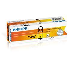 Sentiti al sicuro, guida con sicurezza. Lampade di segnalazione Philips. T4W, 12 V.
