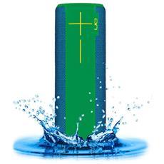Speaker Portatile con Bluetooth Colore Verde e Blu