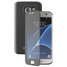 Cellularline Book Touch - Galaxy S7 Custodia a libro con sportellino touch Nero