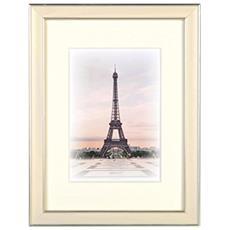 Capital Paris bianco 13x18 legno incl. Passepartout 8155102