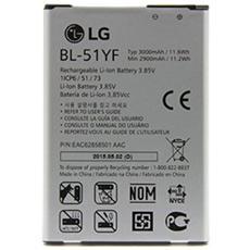Batteria Ricambio Sostituzione 3000 Mah Lg G4 Bl-51yf H815 Nuova Alta Qualita'