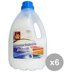 Set 6 Ammorbidente 24 Mis. balsamo 1,8 Lt. Detergenti Casa