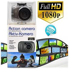 "Action Cam Sensore Full HD 5Mpx Display 2.4"" Impermeabile"