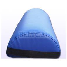 Cuscino Semicilindrico Per Massaggio E Lettini Da Massaggi Cuscini Semi Rotondi / Rotondo Fisioterapia Estetista Tattoo Tatuaggi - Blu