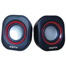APPSPA01, Stereo, Cablato, USB, 40 - 20000 Hz, 3,5 mm, Notebook / Netbook