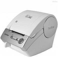 QL-500A Stampante di Etichette Termica Diretta Risoluzione 300 dpi USB Colore Grigio / Bianco