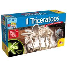 49028 - Piccolo Genio Scava E Scopri Triceratops