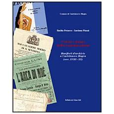 Colori e forme della comunicazione. Manifesti d'archivio a castelnuovo Magra (secc. XVIII-XX)