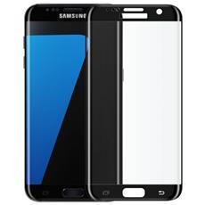 Pellicola Vetro Temperato Samsung S7 Edge Curvo Nero