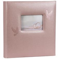 Album Fotografico Perle 28 x 30.5 cm Colore Rosa