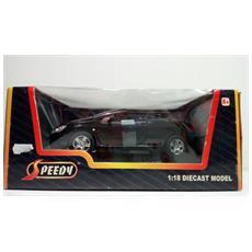 Modellino Auto - Pegeout 307 Cc Decappottabile - Nera - Scala 1:18 - Speedy