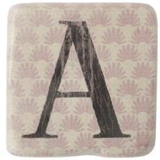 Sottobicchieri Con Lettere (9 X 9 X 0.8cm) (a)