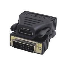 Adapter HDMI 19 - DVI 24+1 HDMI 19 DVI 24+1 Nero cavo di interfaccia e adattatore