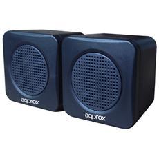 APPSPAE, Stereo, Cablato, USB, 40 - 20000 Hz, 3,5 mm, Notebook / Netbook