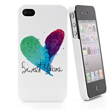 Cover Heart'12 Water Ip4 White + S.