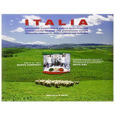 Italia. Patrimonio ambientale e cultura gastronomica. Ediz. italiana, inglese e russa