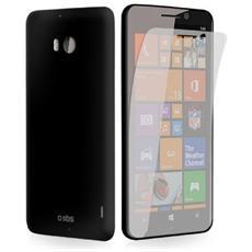 Cover Aero per Lumia 930 + Pellicola protettiva - Nero