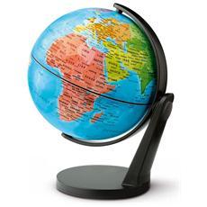 Mappamondo Globo Giramondo Continenti Tecno Didattica Diametro 11 Cm Idea Regalo