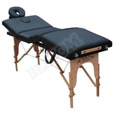 Lettino Massaggio 4 Zone Legno Lettini Per Da Massaggi Pieghevoli Gran Lusso Nuovo Fisioterapia Fisioterapista Tattoo Tatuaggi Relax Richiudibile - Pannello Reiki - Nero