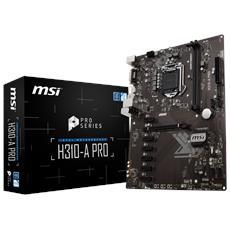 Scheda Madre H310-A PRO Socket LGA 1151 Chipset Intel H310 microATX RICONDIZIONATO