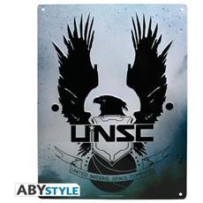 Absytyle 'halo–targa Metallo Unsc (28x 38cm)
