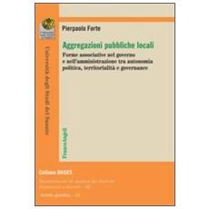 Aggregazioni pubbliche locali. Forme associative nel governo e nell'amministrazione tra autonomia politica, territorialità e governance