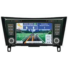 """Sistema di Navigazione Nero 8"""" Bluetooth OF7060"""