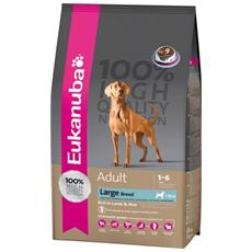Cibo per cani Adult Taglia Grande Agnello e Riso 12 kg