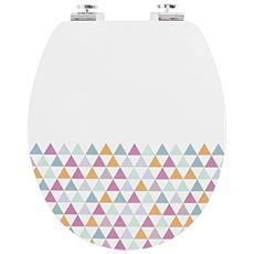 20721955ab Fsc100% Trendy Line Diplomat Pastelli, Bianco Multicolore E Bambù
