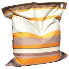Cuscinone A Righe Colore Riga Arancio