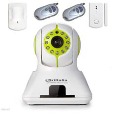 Alarm system antifurto wifi wireless ip camera unico dispositivo onvif smartphone