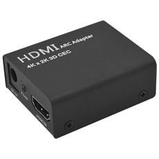 Adattatore Convetitore Audio Hdmi Arc A Hdmi + Optical / toslink 4k 1080p Cec