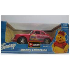 Disney Collection Burago Pooh Porsche 356 B Coupe Cod 2003