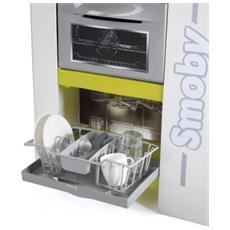 SMB7600311027 Cucina Studio Bubble - effetto acqua che bolle, forno, frigorifero, lavastoviglie, 26 accessori