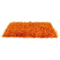 Tappeto Da Cucina E Da Salotto Modello Shaggy 70x130cm Arancio