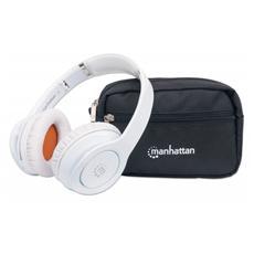 ICC SH-FATHOM-WH - Cuffia Stereo Fathom Wireless con Microfono Bianca